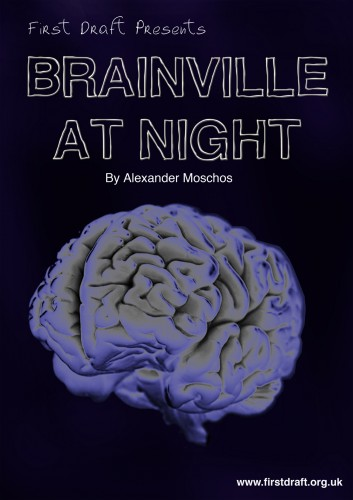 Brainville At Night - Poster